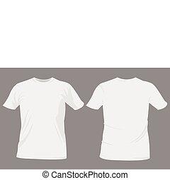 t-shirt, concevoir gabarits