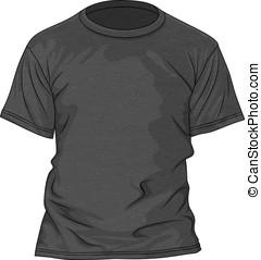 T-shirt design template