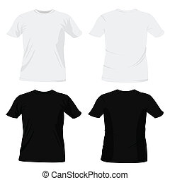 t-shirt, disegnare sagome
