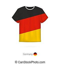 Thumbs Trainer Deutsch T Shirt Fussball Design