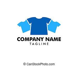 T-shirt Fashion Logo Template Design Vector