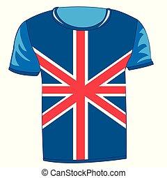 T-shirt flag United Kingdom