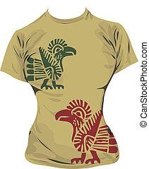t-shirt, illustration