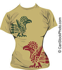 t-shirt, illustrazione