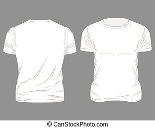 t-shirt, macho branco, desenho