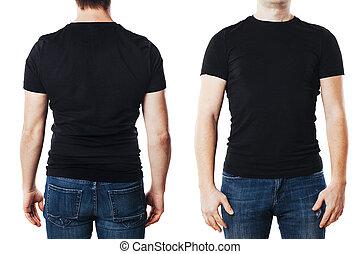 t-shirt, man, ung, mall, tom