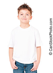 t-shirt, menino