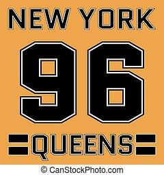 t-shirt, new york