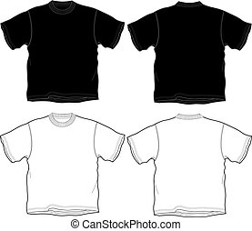 t-shirt outline