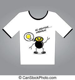 t-shirt, projektować