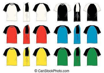 Dark Navy Blue Men S T Shirt Template V Neck Front And Back