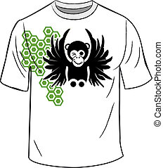 t-shirt, singe