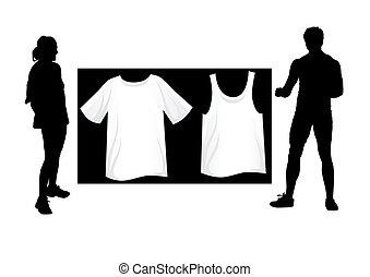 t-shirt, sport