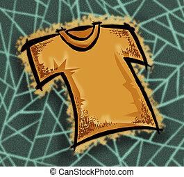 t-shirt - yellow t-shirt