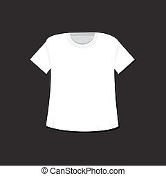 T-shirt template and mockup