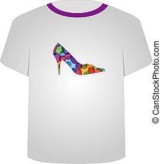 T Shirt Template-Shoe lover