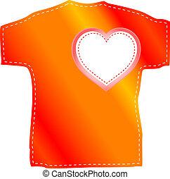 T-shirt templates valentine heart