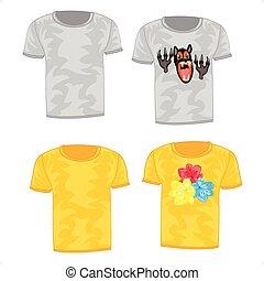 t-shirt, tissu