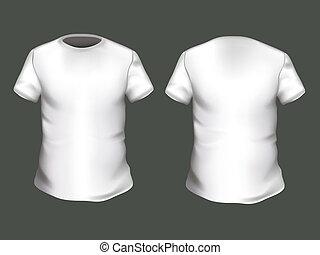 t-shirt, vecteur, conception, gabarit
