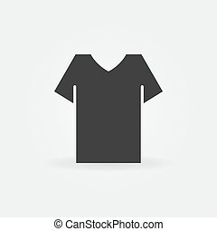 T-shirt vector minimal icon
