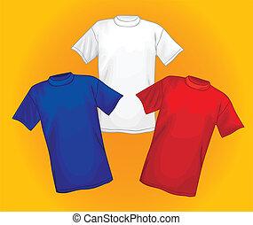 T-shirt vector templates