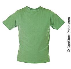 t-shirt, vert