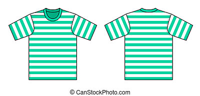 t-shirt, wektor, ilustracja