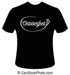 T-shirt with logo Oktoberfest