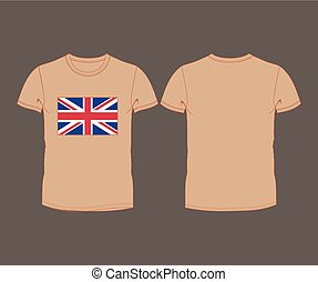 T-shirt with the flag of great Bri