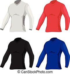 1a348483 T shirts template vector design. T shirts template vector design · Grey Men  T-shirt Long Sleeved ...