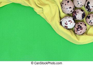 t, vista, huevos, codorniz, superficie, vacío, luz, lugar, ...