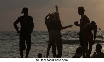 tańce, morze