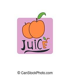 ta, meruňka, ovoce, icon.