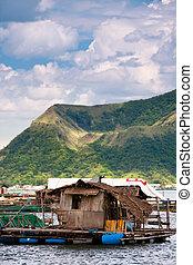 taal, フィリピン, 湖