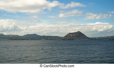 Taal Volcano, Tagaytay, Philippines. - Taal Volcano on Luzon...