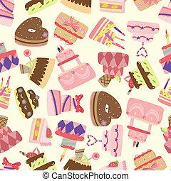 taart, model, seamless