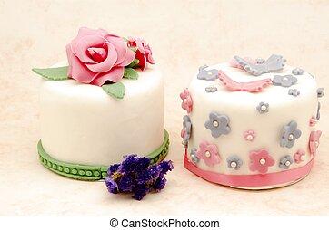 taart, verfraaide
