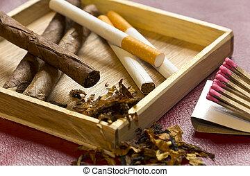 tabacco, rilassamento