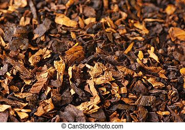 tabaco, como, plano de fondo