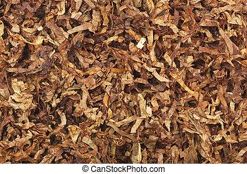 tabaco, forma, solto, secado, cortes, ir