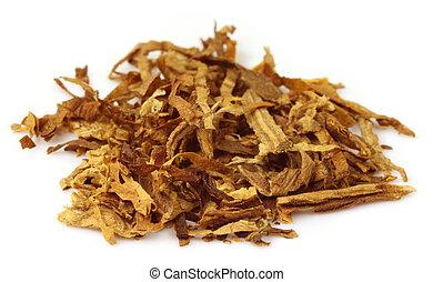 tabaco, para, elaboración, cigarrillo