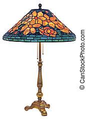 tabel, tiffany, lampe