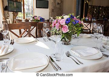 tabela, banquete