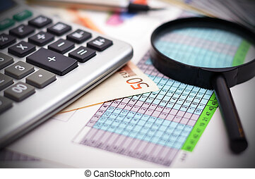 tabela, financeiro