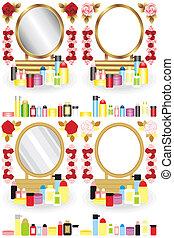 tabela maquiagem