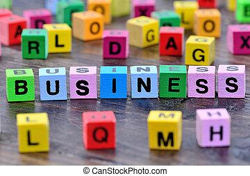 tabela, palavra, negócio