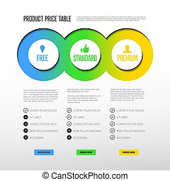 tabela, produto, preço, modelo