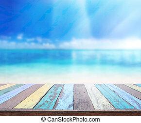 tabell högsta, och, fläck, natur, bakgrund