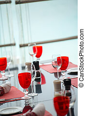 tabell sätta, restaurang