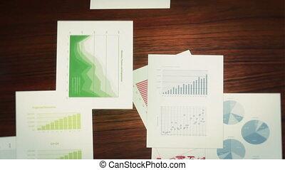 tabelle, affari,  infographics